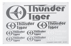 PD1985 Thunder Tiger Decal - pd1985