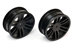 TT Front Wheels (Black) - Tomahawk - pd7932