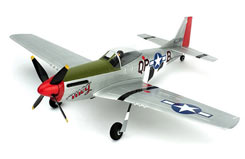 Ultra-Micro P-51D Mustang RTF AS3X - pkzu2400