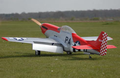 Flying Legends P-51 w/Ftd Retracts - q-fl100-c