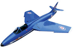 FL Hawker Hunter (Blue Diamonds) - q-fl150-blue