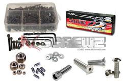 G004 TRex600N SS Screw Set - rcsalg004