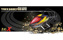 T-Rex 600E Pro DFC Super Combo - rh60e01xt