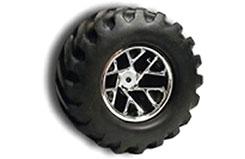 RPM MAXX Monster Clawz Wheels - Blu - rpm81915