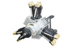Saito FA-450R3 Radial Engine - sat450r3