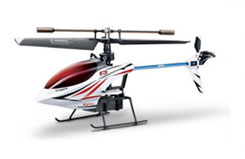 F3 4ch Single Blade 2.4GHz Heli - sysf3