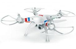 2.4GHz X8 Quadcopter WiFi Cam - sysx8w