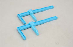 Plastic Clamps - Large (Pk2) - t-ex55664