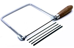 Coping Saw w/5 Blades - 165mm - t-ro-58289