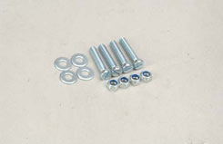 Nylock Nut/Bolt/Washer - 5mm (Pk4) - t-sl042d