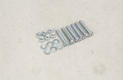Nut/Bolt/Washer - 4x25mm (Pk6) - t-sl043g