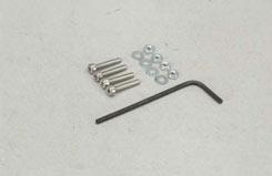 SL043K Nut/CapScrw/Wsh-2x12mm (Pk4) - t-sl043k