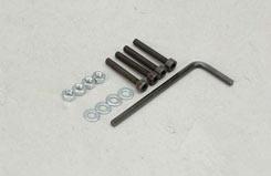 SL043M Nut/CapScrw Wsh 3x20mm (Pk4) - t-sl043m