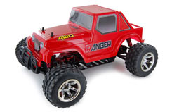 Ranger 4WD 1:10EP Truck - Red - tar0003b