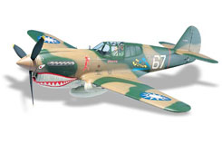 P-40 Warhawk 60 Kit - topa0120