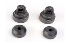 Shock caps (2)/ shock bottoms - trx-3767