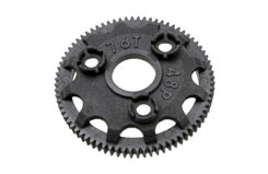 Spur gear, 76-tooth (48-pitch) - trx-4676