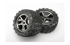 Tires & wheels, assembled, glued - trx-5374x