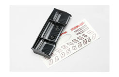 Traxxas 1/16 E-Revo Wing (Carbon Fi - trx-7122g