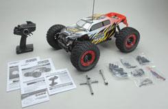 MT4 G3 Monster Truck - Red - tt6401f111
