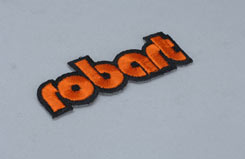 Robart Embroidered Patch - u-rb997012p