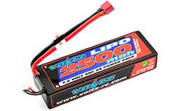 Voltz 2500mAh Hard Case 7.4v Batt - vz0304