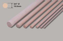 Ramin Dowl - 3/4 x 36inch/19.0 x 914mm - w-hd8-5