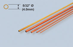 K&S Copper Tube 5/32inch X 12inch - w-ks0119