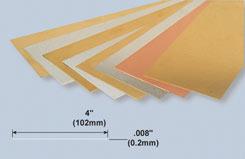 K&S Tin Sheet .008inchX4inchX10inch - w-ks0254