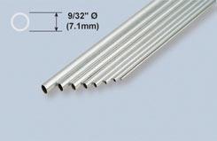 K&S Aluminium Tube 9/32inchX 36 - w-ks1114
