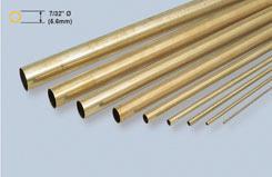 K&S Brass Tube 7/32inch X 36inch - w-ks1148