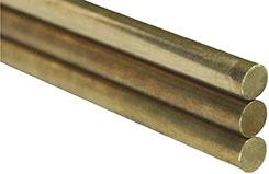K&S Solid Brass Rod 5/16inch X 36inch - w-ks1166