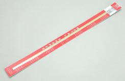 Brass Strip.064x1/4x12 1.6x6.35x305 - w-ks8245