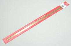 Brass Angle 1/4x1/4x12inch 6.35x300mm - w-ks9882
