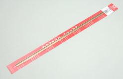 Brass Channel - 1/4x12inch/6.35x300mm - w-ks9887