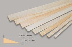 Balsa T/L Edge 1/2 X 1 1/2 - w-l470-10