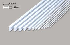 I Beam - 6.40 x 3.20 x 610mm - w-pbfs-8