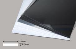 30thou. White P/Card .75mm - w-pc1030-12