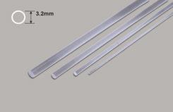 Clear Acrylic Rod - 3.2mm Diameter - w-pcar-4