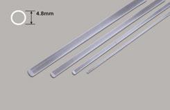 Clear Acrylic Rod - 4.8mm Diameter - w-pcar-6