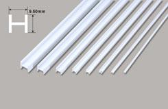 H Column - 9.50 x 9.50 x 375mm - w-phfs-12