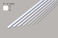 Square Microrod - 1.5 x 1.5 x 250mm - w-pms-60