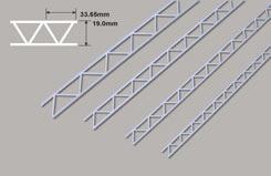 Open Webb Truss-19.0 x 33.65x 300mm - w-powts-24