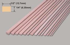 Spruce Strip 1/4 X 1/2 X 36 - w-sp262-10