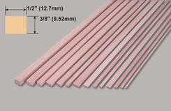 Spruce Strip 3/8 X 1/2 X 36 - w-sp271-10