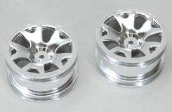 Wheel-5Y Spoke/Silver/Pk2 - 4WD - z-cenff075s