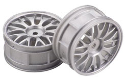 Wheel-16 Spoke/Chrome/1:10 (Pk2) - z-ceng84257