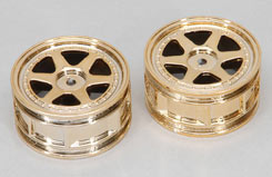 Wheel-6 Spoke/Gold/1:10 (Pk2) - z-ceng84285