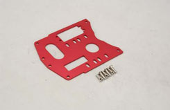 Alu Engine Plate (Red) Gen/GST/GSR - z-cengs041