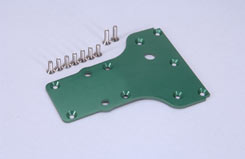 Alu Skid Plate (Green) Gen/GST/GSR - z-cengs059g